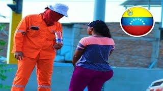 BARRENDERO intenta salir con VENEZOLANA
