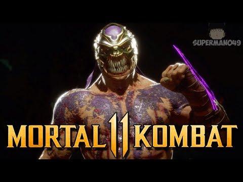 """THE DAMAGE IS INSANE! Brutality Hunting With Baraka! - Mortal Kombat 11: """"Baraka"""" Gameplay"""