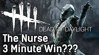 Dead By Daylight The Nurse | 3 MINUTE WIN??? | with HybridPanda