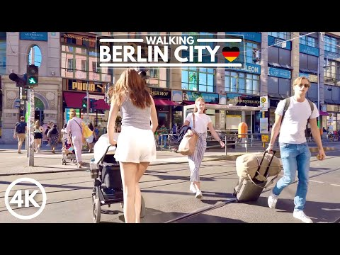 [4K] Berlin Germany City Walk in 2020 - Walking Tour at Hackescher Markt