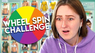 Spinning a Wheel to Decide My Sim