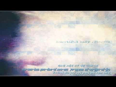 [Eng, Rom & Kor] Jung Yup of Brown Eyed Soul - Beautiful Lady