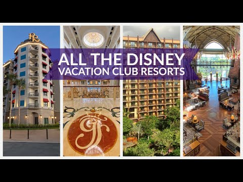 All The Disney Vacation Club Resorts
