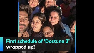 First schedule of 'Dostana 2' wrapped up!