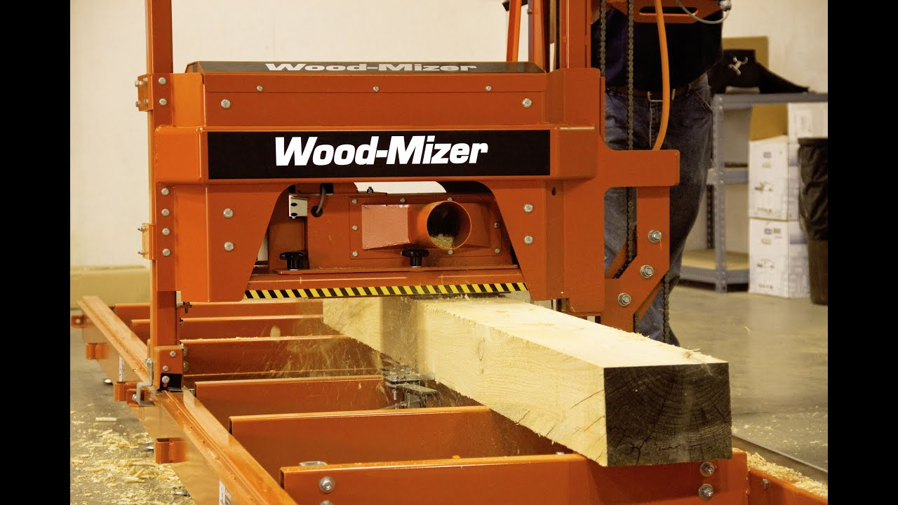 MP100 Log Moulder/Planer | Wood-Mizer