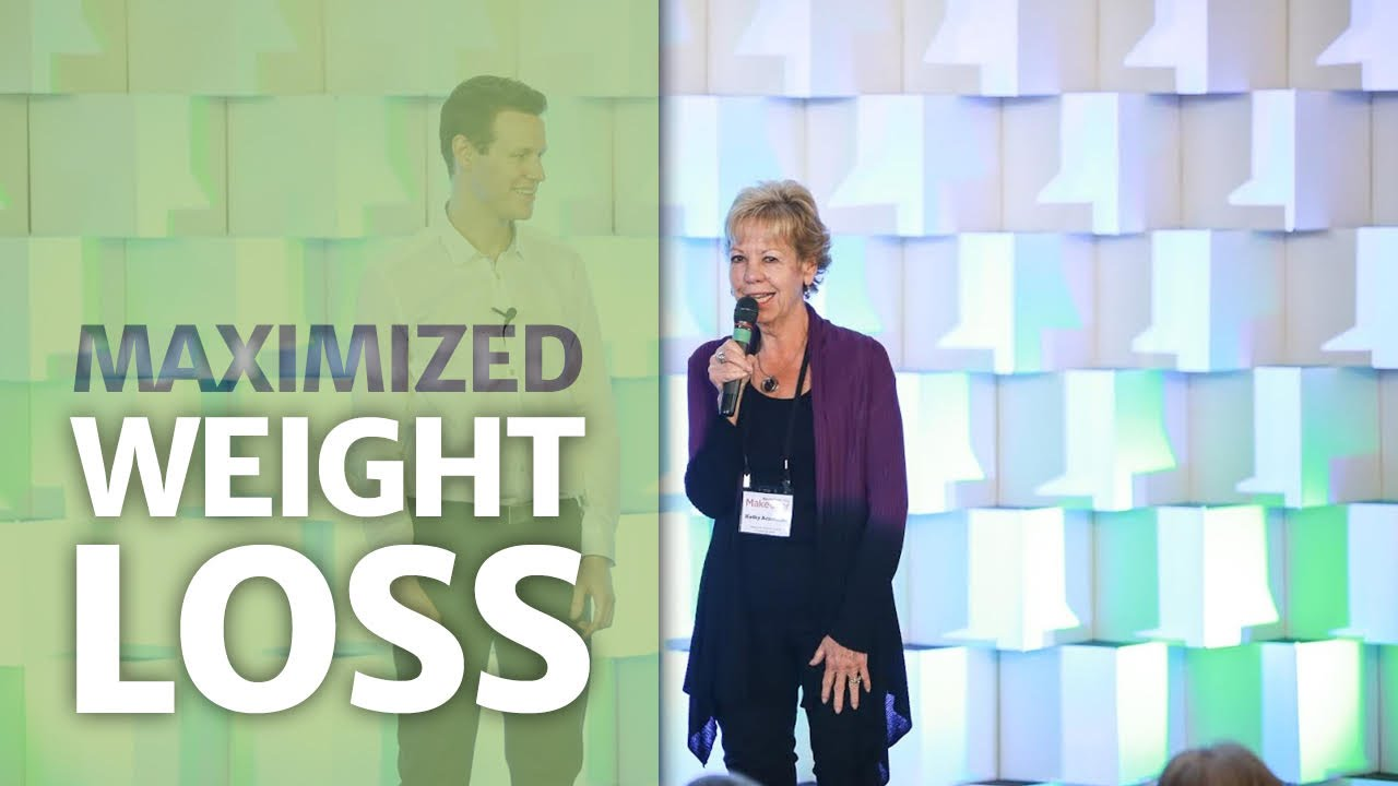 Maximized Weight Loss -- Maximized Living - YouTube