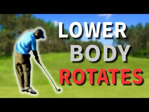 Gravity Golf Lesson - The Legwork - Understanding A Lower Body Golf Swing