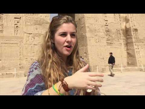 Discovering Medinet Habu Temple in Luxor, Egypt