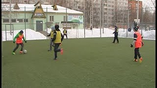 Юные футболисты ДЮСШ «Дмитров»