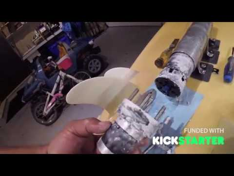 VeFoil Part 2 - DIY Electric Hydrofoil Remote Propulsion System
