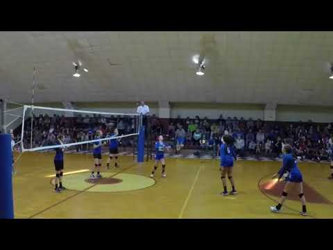 Lake Norman Christian School Varsity state tournament game   volleyball  high school
