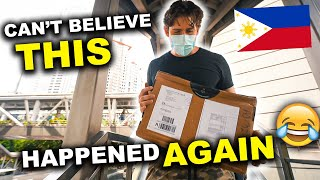 FOREIGNERS experience PHILIPPINES POST OFFICE with another SURPRISE