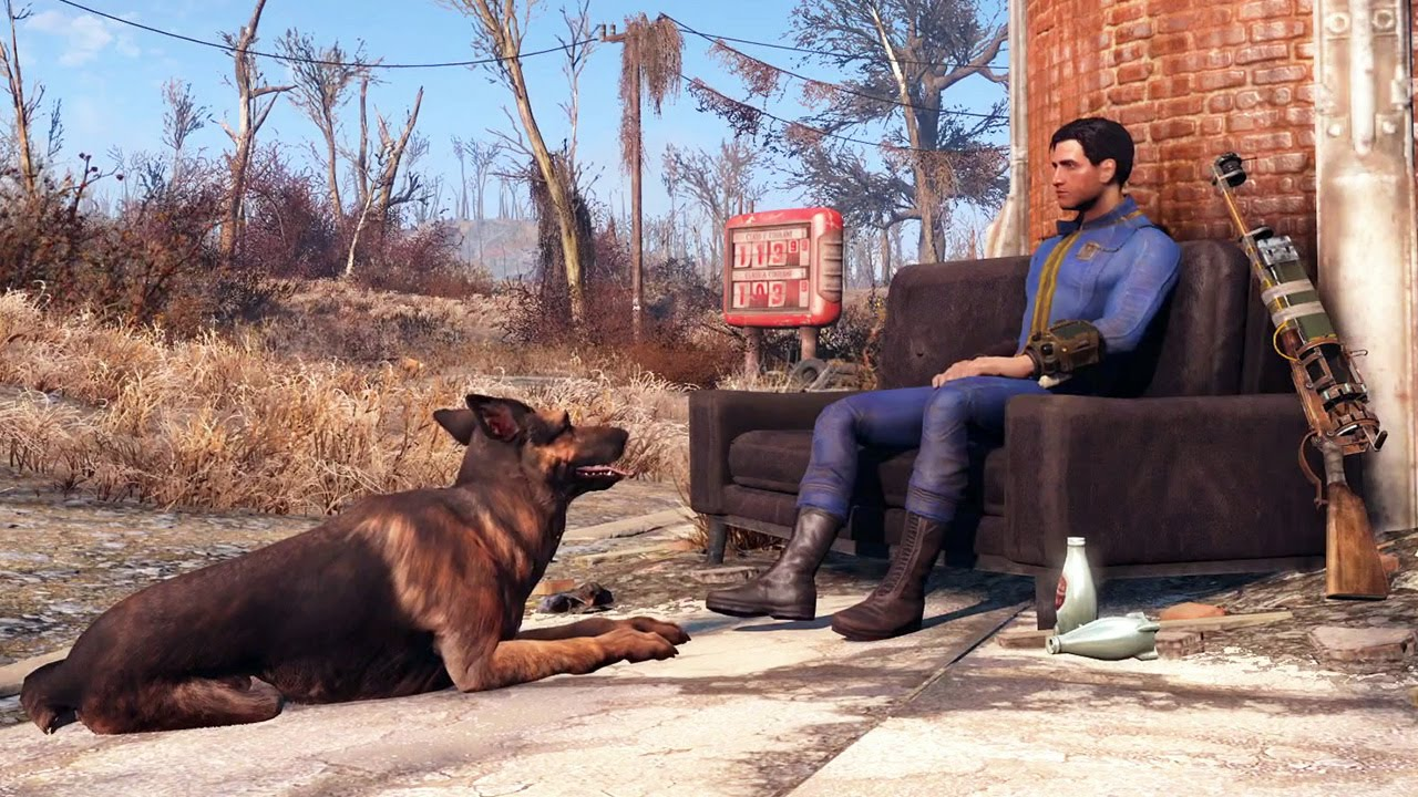 PS4 - Fallout 4 Gameplay (Combat ...