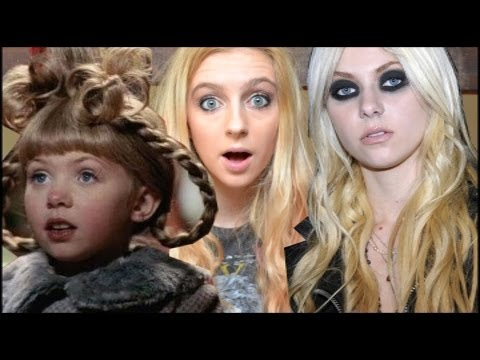 Then Now Cindy Lou Who Youtube