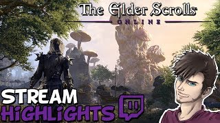 ESO Leveling And PVP Stream Highlights - TheLazyPeon