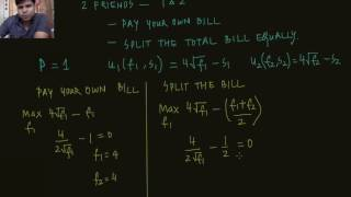 Exercise Pay your own bill versus Split the bill