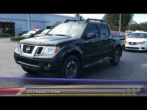 2015 Nissan Frontier DeLand Nissan W405669A