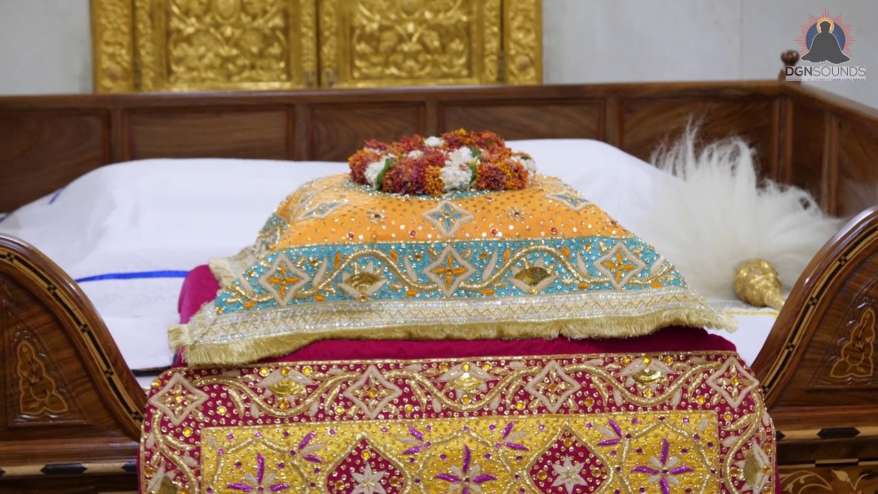 Beautiful Video Of Sri Guru Granth Sahib Jee Sukhasan Sachkhand