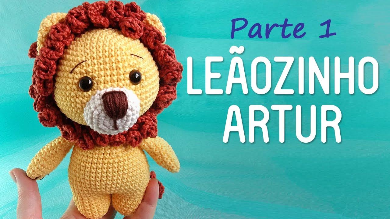 Kit Amigurumi Coleção Safari Baby Círculo - Leão - Bazar Horizonte | 720x1280