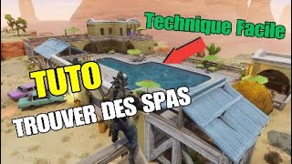 [TUTO] TROUVER OF SPAS in a Ghost City (Morne Quest Page 8) FORTNITE Saving the World