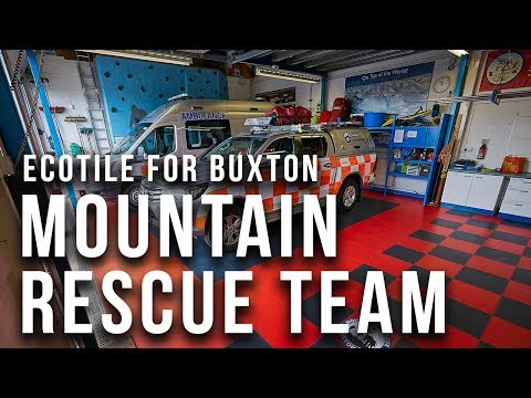 Donating a New Floor to Buxton Mountain Rescue Team