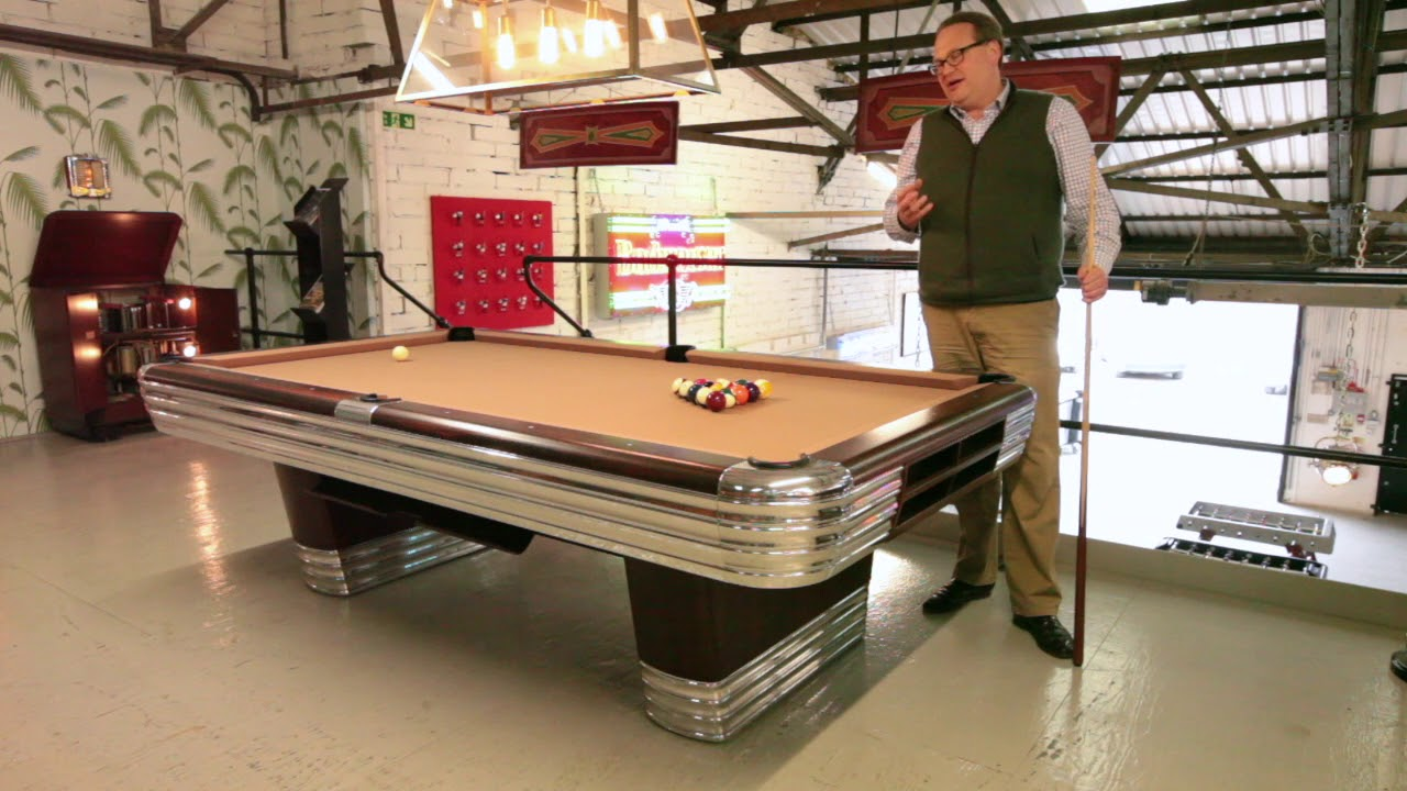 Fully Restored Brunswick Centennial Pool Table YouTube - Brunswick centennial pool table