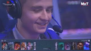 TI 9 Grand Finals | OG VS Team Liquid | Game 2