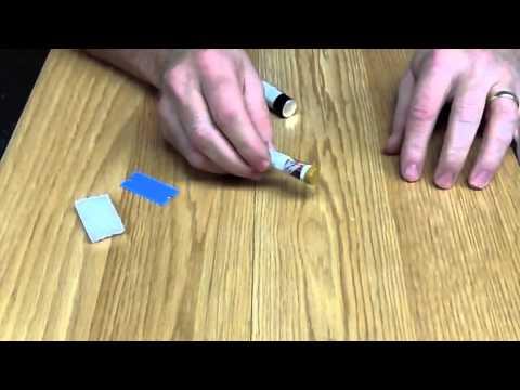 Finish Repair Fill Stick Repair On Hardwood Floors Youtube