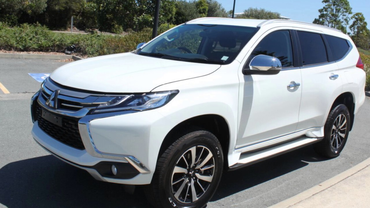 2016 mitsubishi pajero sport qe my16 glx white 8 speed sports automatic wagon youtube. Black Bedroom Furniture Sets. Home Design Ideas