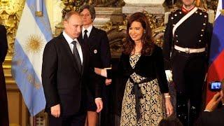 12 de JUL.Visita oficial a la Argentina de Vladimir Putin