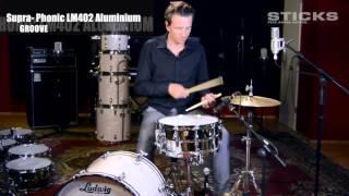 Ludwig Supra-Phonic LM402, Aluminium-Kessel