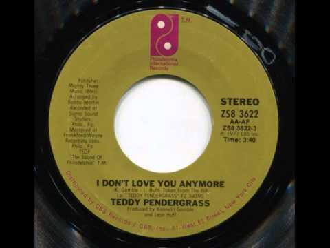 TEDDY PENDERGRASS - I don't love you anymore - PIR