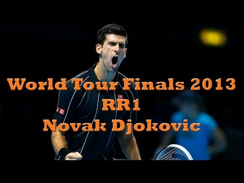World Tour Finals 2013 RR1 - Federer vs Djokovic (Extended Highlights)