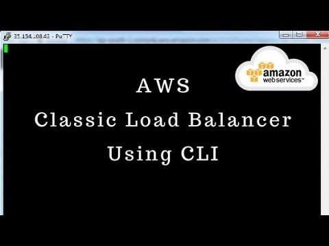 Create Classic Load Balancer Using AWS CLI [Part-2]