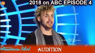 Samothias sings Tennessee Whiskey  - he got tested by judges Audition American Idol 2018 Episode 4