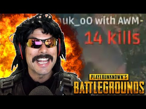 """Doc's """"BEST GAME EVER"""" in PUBG (14-KlII Game)!"""