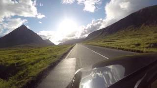 GoPro - Driving through Glencoe with spectacular views