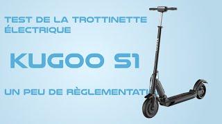 Test de la trottinette électrique Kugoo S1 et Pro, le meilleur rapport qualité prix ?