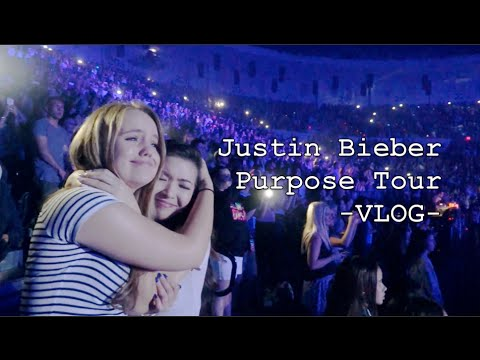 Justin Bieber Purpose Tour - VLOG - Valley View Casino