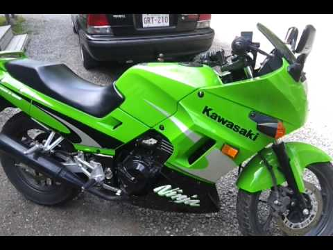 2002 250 Kawasaki Ninja For Sale Youtube