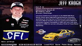 NASCAR Racing 1999 Edition Drivers and Tracks