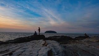 Sunset Di Pantai Benteng Portugis, Jepara, Touringers Kudus