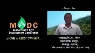MADC - Maharashtra Agro Development Corporation - A Civil to Agro Township