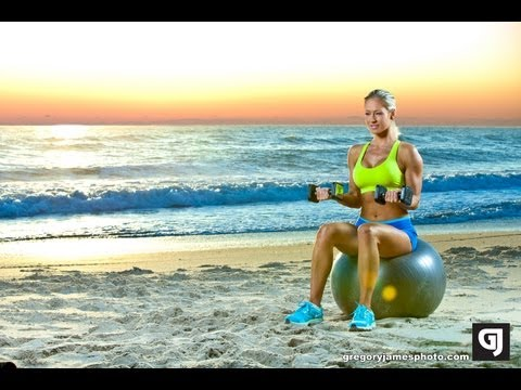 Gregory James BTS Fitness Shoot | Jenna Webb
