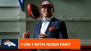 'I wanted to go there so bad': Noah Fant recalls the moment he became a Denver Bronco