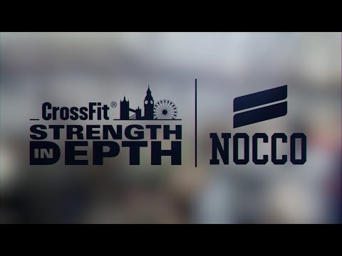 CrossFit® Strength In Depth 2020 - Livestream - Saturday