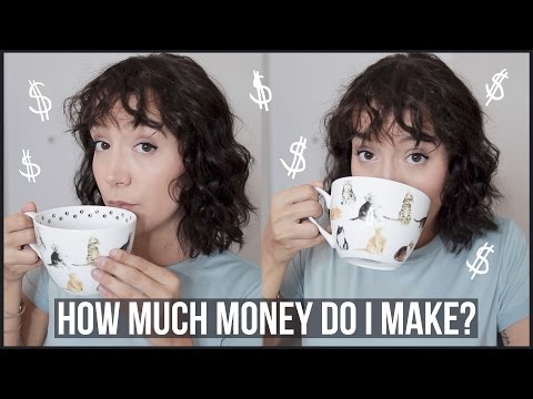 HOW MUCH MONEY DO YOUTUBERS MAKE?? (seriously I'll tell you)