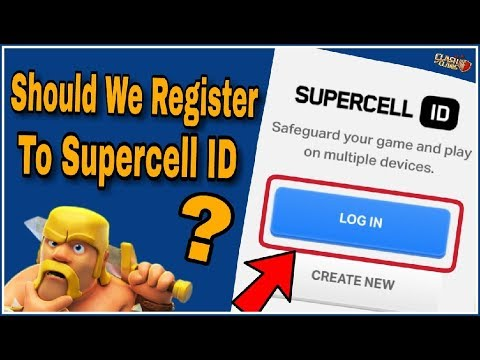 Is 'SUPERCELL ID' Safe? Should We Register? Clear All Your Doubts | CLASH OF CLANS HINDI