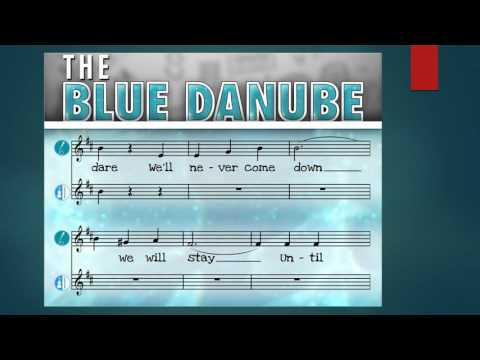LINK UP Blue Danube PRACTICE HERE