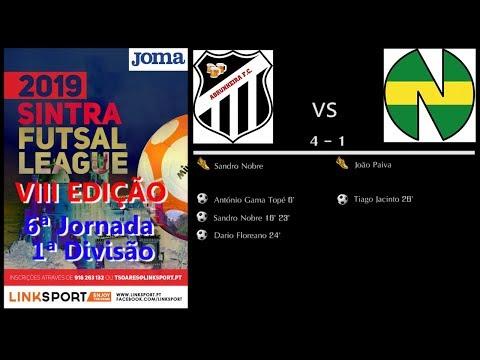 VIII Edição Sintra Futsal League 2ªDiv 6ªJorn Abrunheira vs New Team 4 - 1